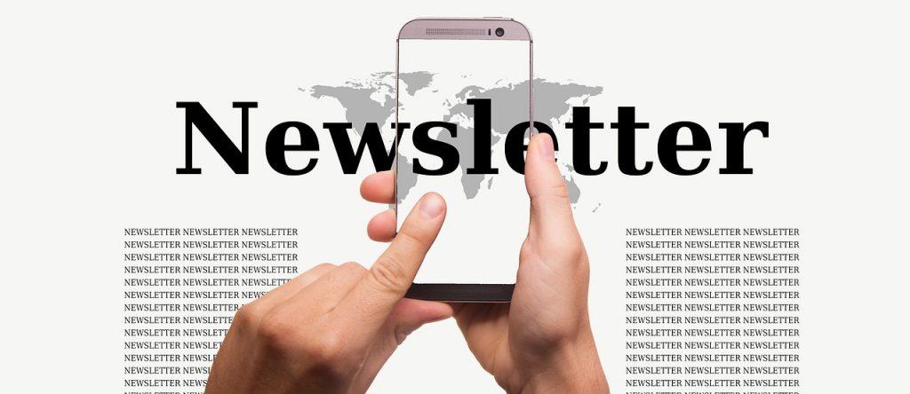 La newsletter en 2017